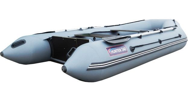 лодки пвх hunter 340